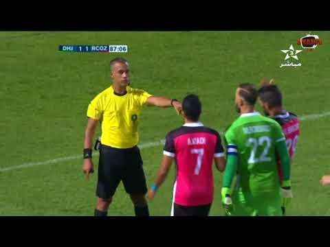 المغرب اليوم  - أهداف مباراة الدفاع الحسني الجديدي وسريع واد زم