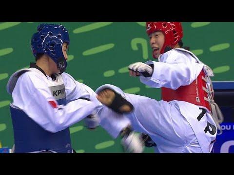 المغرب اليوم  - شاهد كواليس بطولة التايكوندو في دورة الألعاب الآسيوية