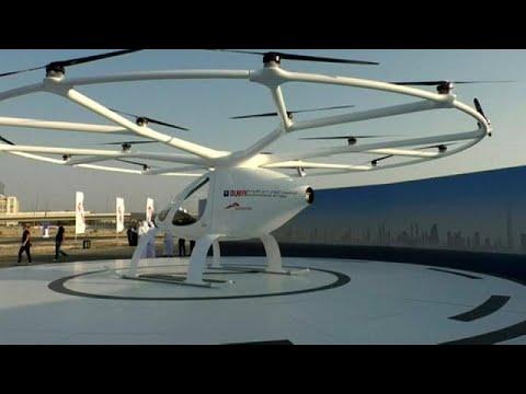 المغرب اليوم  - اهد دبي تختبر أول تاكسي طائر في العالم بدون طيار