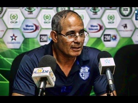 المغرب اليوم  - شاهد تعليق بادو الزاكي وأيت جودي بعد مباراة اتحاد طنجة وأولمبيك خريبكة