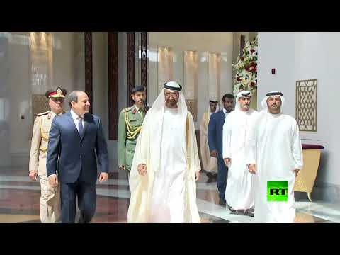 المغرب اليوم  - لحظة استقبال الشيخ محمد بن زايد آل نهيان للرئيس السيسي
