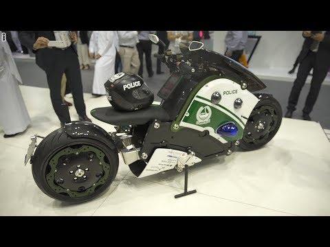 المغرب اليوم - شرطة دبي تستخدم دراجة باتمان النارية لاتمام مهامها