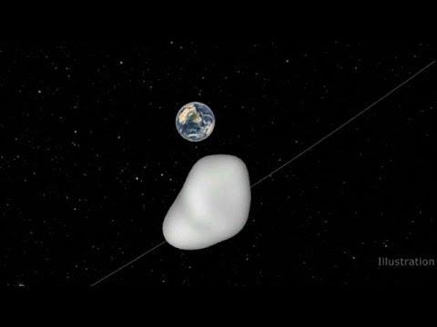 المغرب اليوم - بالفيديو كويكب يمر بالقرب من الأرض