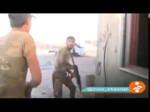 المغرب اليوم - شاهد فريق التلفزيون الإيراني يتعرّض إلى هجوم من قبل داعش