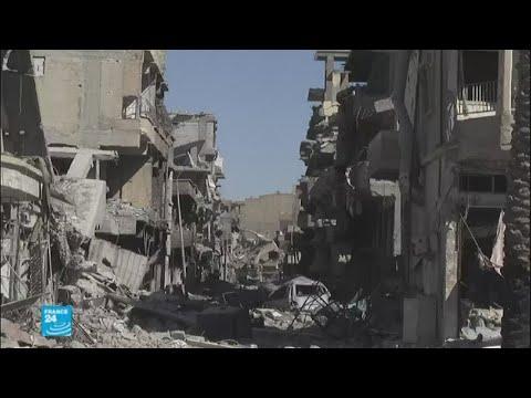 المغرب اليوم - بالفيديو  الجبهة الجديدة لـقوات سورية الديمقراطية بعد الرقة