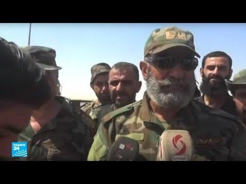 المغرب اليوم - شاهد مقتل قائد اللواء 104 العميد عصام زهر الدين في دير الزور