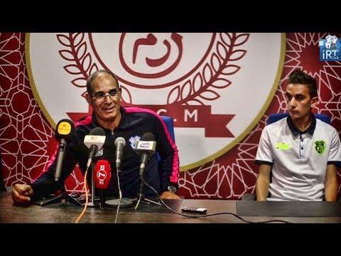 تصريح بادو الزاكي بعد لقاء اتحاد طنجة والكوكب المراكشي
