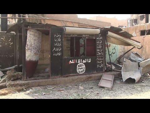 المغرب اليوم - شاهد قوات الحكومة السورية تستعيد مدينة الميادين