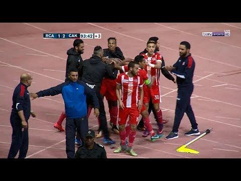 أهداف مباراة الرجاء الرياضي 12 شباب أطلس خنيفرة