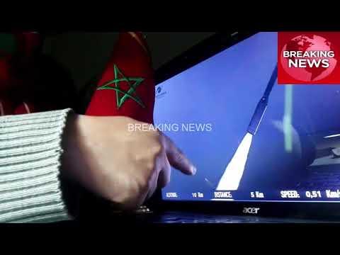 شاهد لحظة وصول المغرب إلى الفضاء وإطلاق قمر صناعي مغربي
