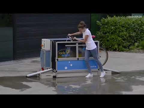 شوارع بريطانيا تستعد لاستقبال آلة غسيل الدراجات