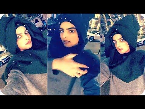 سارة الودعاني تخترع حجابًا جديدًا