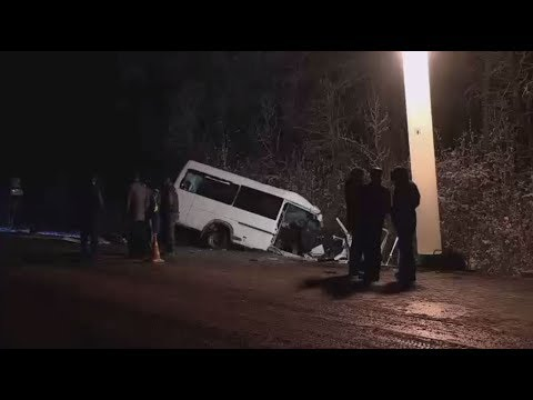 شاهد مقتل 15 شخصًا بحادث سير في ماري إل غرب روسيا