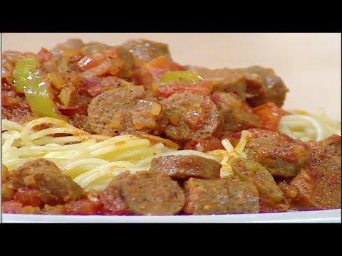 شاهد طريقة إعداد ومقادير سوسيس لحمة