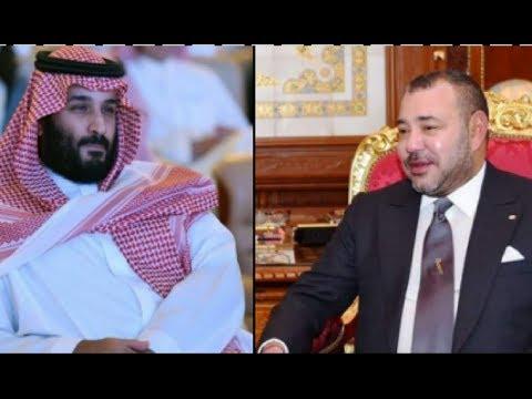 شاهد محمد بن سلمان يفاجئ الملك محمد السادس بشيء غير متوقع