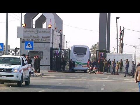 شاهد مصر تفتح الحدود مع غزة