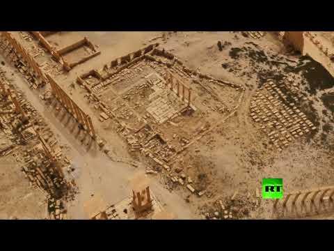نموذج ثلاثي الأبعاد لمدينة تدمر هدية روسية لسورية
