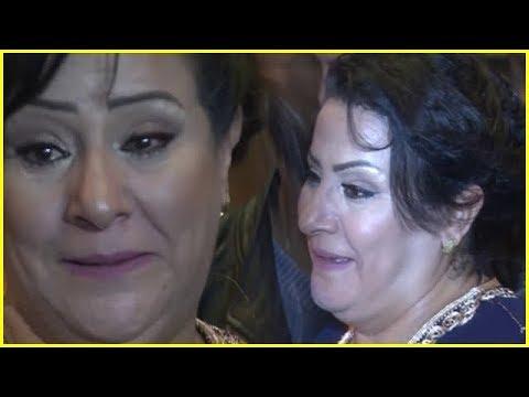 شاهد دموع وفرعة كبيرة للفنانة المغربية زهيرة صادق