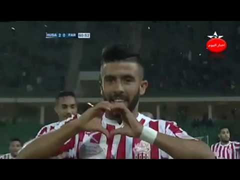 أهداف مباراة حسنية أغادير والجيش الملكي