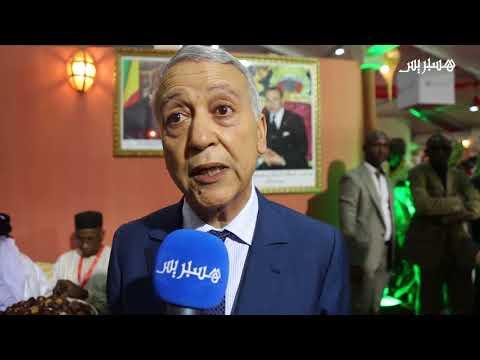 ساجد يزور الرواق المغربي في معرض الصناعة التقليدية في باماكو