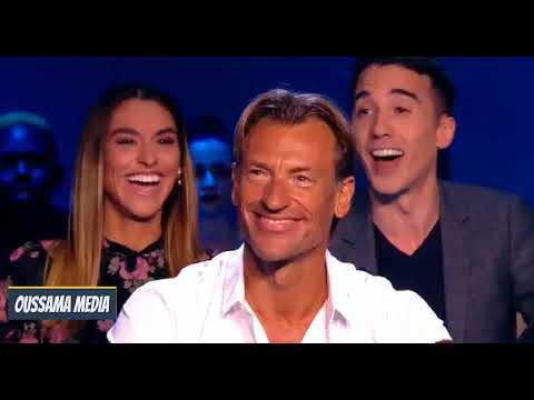 شاهد ابنة رونار تفاجئه في برنامج على قناة فرنسية بسؤال محرج