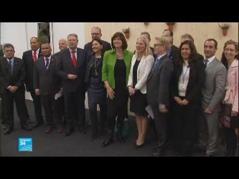 شاهد اجتماع بين ممثلي الدول العشرين لتوقيع اتفاق خفض استخدام الفحم