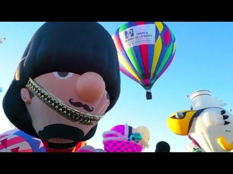 انطلاق مهرجان بالون الدولي بالمكسيك