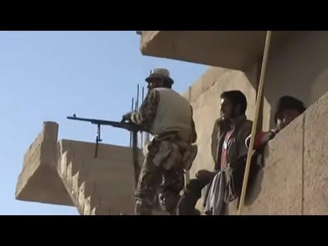شاهد معارك قوات سورية الديمقراطية ضد داعش في ريف دير الزور
