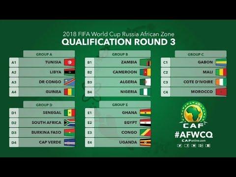 بالفيديو  قرعة بطولة أمم أفريقيا للاعبين المحليين 2018
