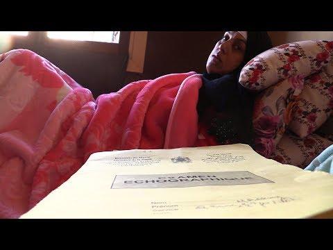 شاهد حامل تتأخّر شهرًا عن وضع مولودها في البيضاء
