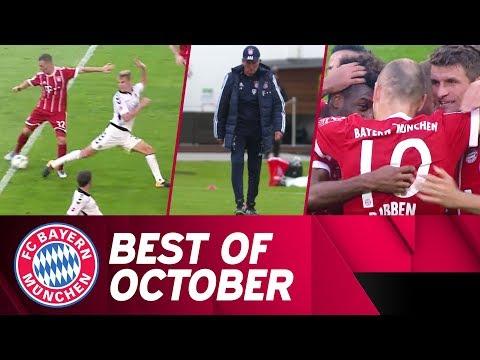 شاهد أفضل لقطات تشرين الأول للاعبي بايرن ميونخ