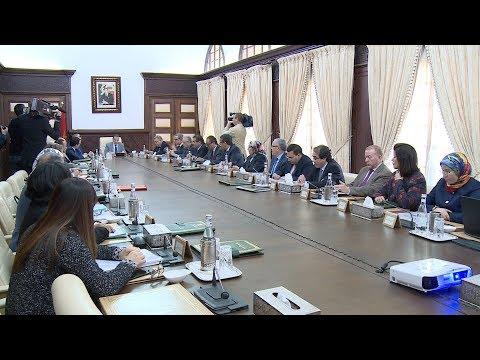 شاهد  العثماني يترأس الاجتماع الأسبوعي لمجلس الحكومة في الرباط
