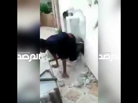 شاهد مآسي المهاجرين غير الشرعيين في صبراتة الليبية