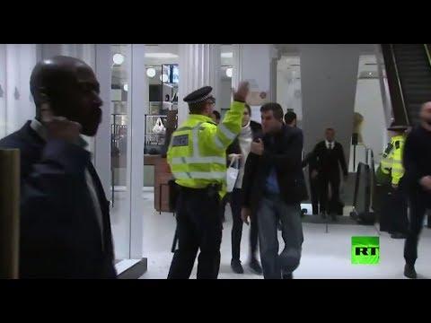 الشرطة البريطانية تجلي محطة مترو أنفاق وسط لندن