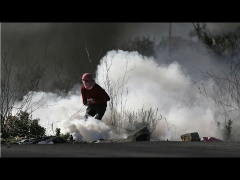 شاهد غارة إسرائيلية جديدة على غزة