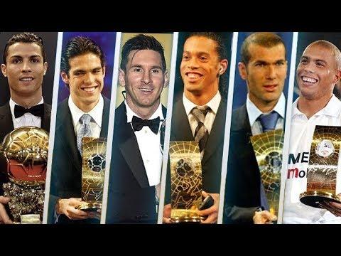 شاهد الفائزون بجائزة أفضل لاعب في العالم خلال القرن الـ21