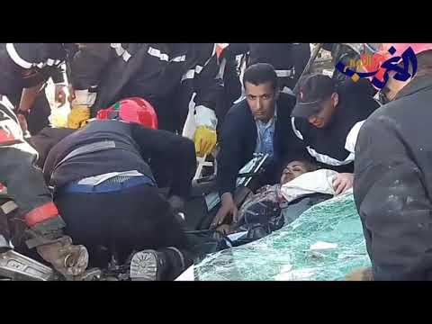 شاهد انتشال ضحايا انهيار سور بلفدير في الدارالبيضاء