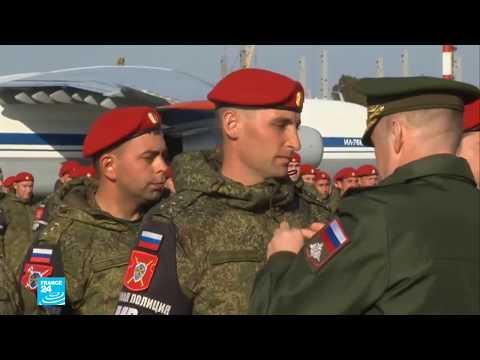 شاهد  مئات الجنود الروس عادوا من سورية أخيرًا