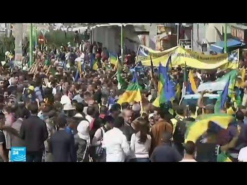 شاهد تجدد المظاهرات في منطقة القبائل في الجزائر