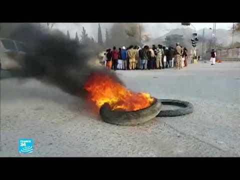 شاهد غضب في باكستان بعد تفجير استهدف المصلين في كنيسة