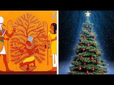 شاهد حكاية شجرة الكريسماس أسطورة قبل  المسيحية