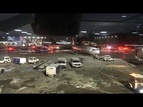 بالفيديو ثاني حادث اصطدام في مطار بيرسون الكندي خلال أشهر قليلة