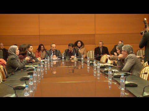 شاهد مناقشة مشروع القانون المتعلق بتنظيم وكالة المغرب العربي للأنباء