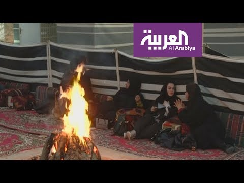 شاهد انطلاق موسم التخييم والمقناص في السعودية