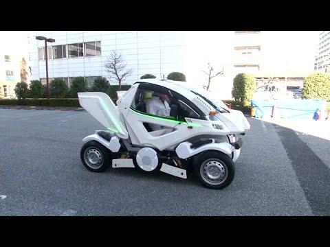 شاهد ابتكار سيارة قابلة للطي في اليابان
