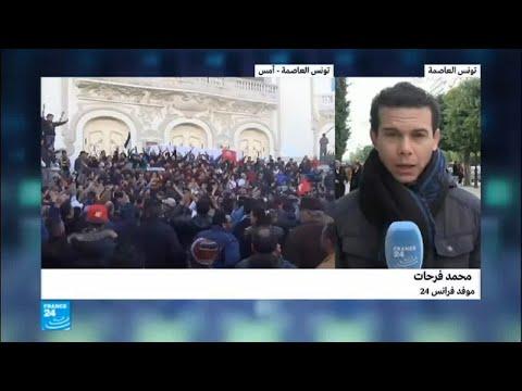 شاهد هدوء حذر بعد تجدد الاشتباكات في تونس العاصمة