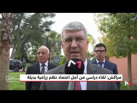 شاهد اعتماد نظم زراعية بديلة محور لقاء دراسي في مراكش