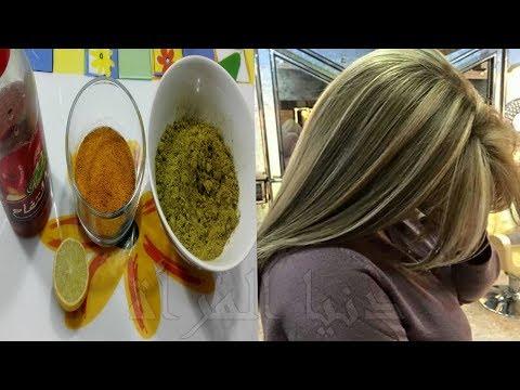 بالفيديو أضيفي هذه المكونات على الحناء وتمتعي بلون شعر أشقر