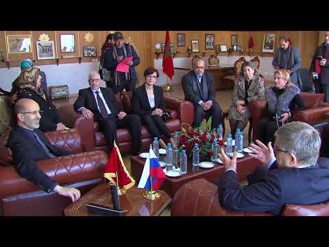 شاهد إبرام اتفاقية تعاون بين جماعة فاس وجمعية روسيا عالمنا