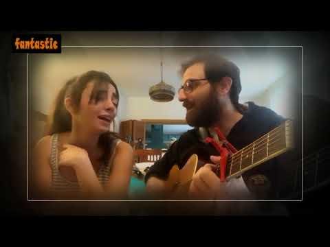 شاهد سيرينا الشامي وزوجها يؤديان أغنية 3 دقات على طريقتهما الخاصة